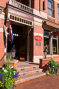 The historic Beaumont Hotel, Ouray, Colorado