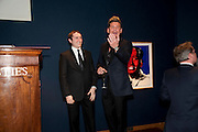 PHIL TURNER ( RIGHT) Annual Lighthouse Gala Auction in aid of the Terrence Higgins Trust.  Christie's, King St. London. 21 March 2011. .-DO NOT ARCHIVE-© Copyright Photograph by Dafydd Jones. 248 Clapham Rd. London SW9 0PZ. Tel 0207 820 0771. www.dafjones.com.