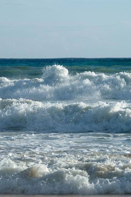 Sea, waves, Algarve, Portugal