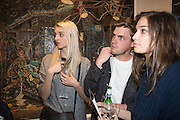 KATE HOWAT; MAX AURSPERG; EMORY AULT, Henry Hudson: The Rise and Fall of Young Sen – The Contemporary Artist's Progress - private view. S2,  Sothebys 31 St George Street, London