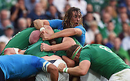 Italy's Josh Furno during the Rugby World Cup 2015 match between Ireland and Italy at the Olympic Stadium, Britain, 4 October 2015.