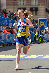 BAA Invitational Road Mile, Scholastic Girls Mile, winner Lauren Hazzard