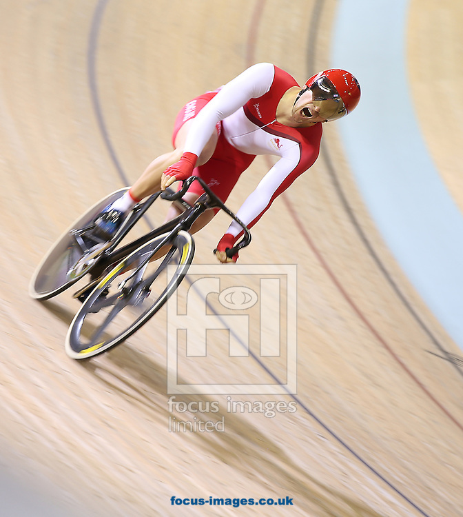 Jason Kenny of England competes in the Men's Sprint Final during day 2 of Track Cycling at Sir Chris Hoy Velodrome, during during the Glasgow 2014 Commonwealth Games<br /> Picture by Paul Terry/Focus Images Ltd +44 7545 642257<br /> 25/07/2014
