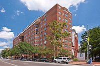Architectural photography of Latrobe Apartments in Washington DC by Jeffrey Sauers of Commercial Photographics.