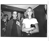 Lady Victoria Harvey. I.C.A exhibition opening and Fundraiser. I.C.A London 3rd October 1996© Copyright Photograph by Dafydd Jones 66 Stockwell Park Rd. London SW9 0DA Tel 020 7733 0108 www.dafjones.com