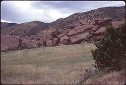 The Rocks, just before the Grateful Dead play Red Rocks Amphitheatre, Morrison, CO on the 12th of August 1979