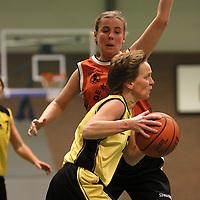 HELLENDOORN..Basketbal vrouwen, Valley Bucketeers-Kikkers..Editie: sport....ffu press agency©2010 Wilco van Driessen..TT20100122..