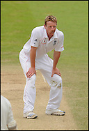 Paul Collingwood of England at Lord's on the fifth day of the first Test on the 14th of July 2008..England v South Africa.Photo by Philip Brown.www.philipbrownphotos.com