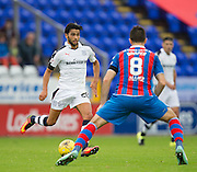 Dundee&rsquo;s Faissal El Bakhtaoui and Inverness&rsquo; Ross Draper - Inverness Caledonian Thistle v Dundee in the Ladbrokes Scottish Premiership at Caledonian Stadium, Inverness. Photo: David Young<br /> <br />  - &copy; David Young - www.davidyoungphoto.co.uk - email: davidyoungphoto@gmail.com