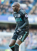 Football - 2016 / 2017 Premier League - Chelsea vs. West Bromwich Albion<br /> <br /> Allan Nyom of West Bromwich Albion at Stamford Bridge.<br /> <br /> COLORSPORT/DANIEL BEARHAM