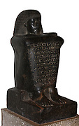 Granodiorite statue of Amenhotep. 18th Dynasty (approx. 1400 BC). From Abydos.