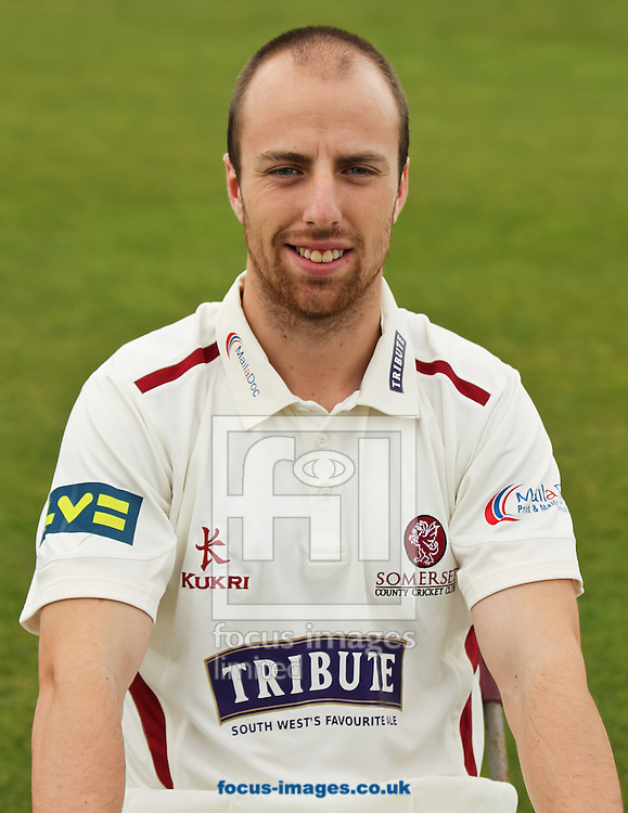 Jack Leach pictured during Somerset County Cricket Club media day at the County Ground, Taunton, Taunton<br /> Picture by Tom Smith/Focus Images Ltd 07545141164<br /> 31/03/2014