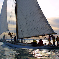 Round the Island Race 2003. Kelpie. Cowes, Isle of Wight, England,