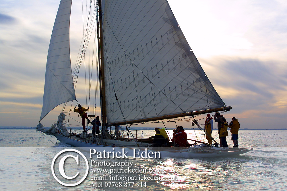 Round the Island Race 2003. Kelpie. Cowes, Isle of Wight, England, Sports Photography