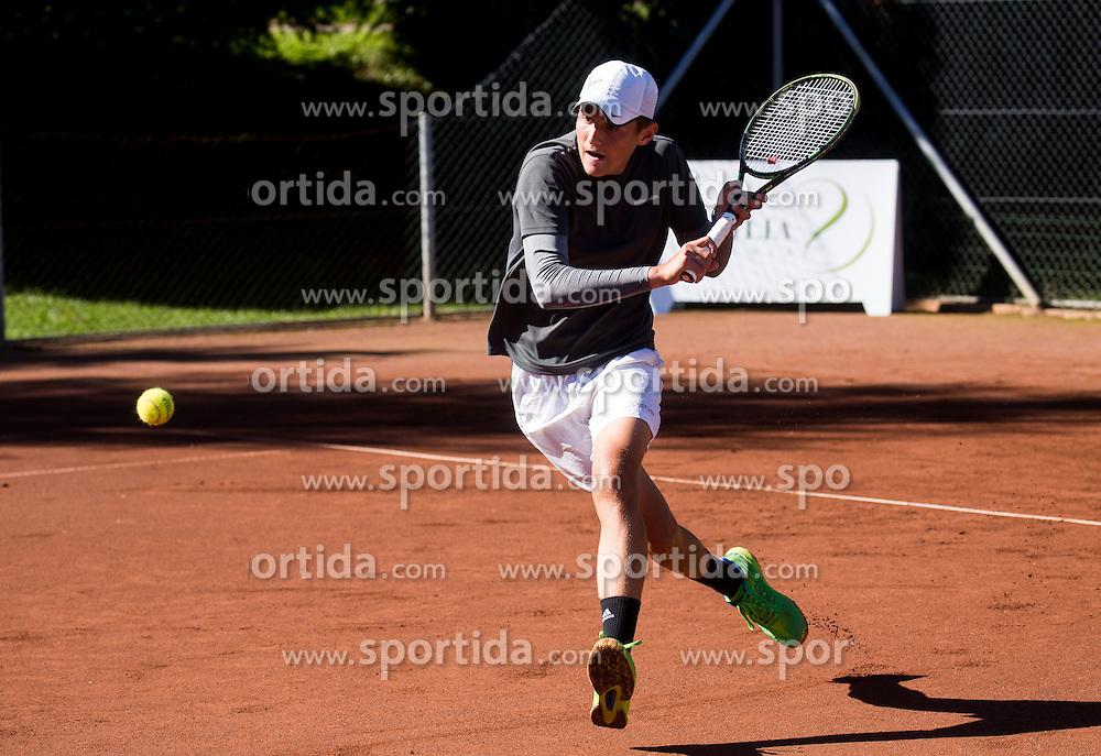 Blaz Vidovic during Day 2 of the Tennis tournament Tilia Masters 2016, on October 6, 2016 in TK Krka Otocec, Slovenia. Photo by Vid Ponikvar / Sportida
