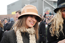 KELLY EASTWOOD at the Hennessy Gold Cup 2010 at Newbury Racecourse, Berkshire on 27th November 2010.