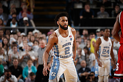 CHAPEL HILL, NC - JANUARY 27: Joel Berry II #2 of the North Carolina Tar Heels plays against the North Carolina State Wolfpack on January 27, 2018 at the Dean Smith Center in Chapel Hill, North Carolina. North Carolina lost 95-91. (Photo by Peyton Williams/UNC/Getty Images) *** Local Caption *** Joel Berry II