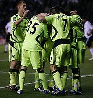 Photo: Steve Bond/Sportsbeat Images.<br /> Derby County v Chelsea. The FA Barclays Premiership. 24/11/2007. Shaun Wright-Phillips (buried) celebrates