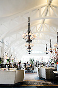 The Clifford Pier restaurant at the Fullerton Bay hotel, Singpaore.