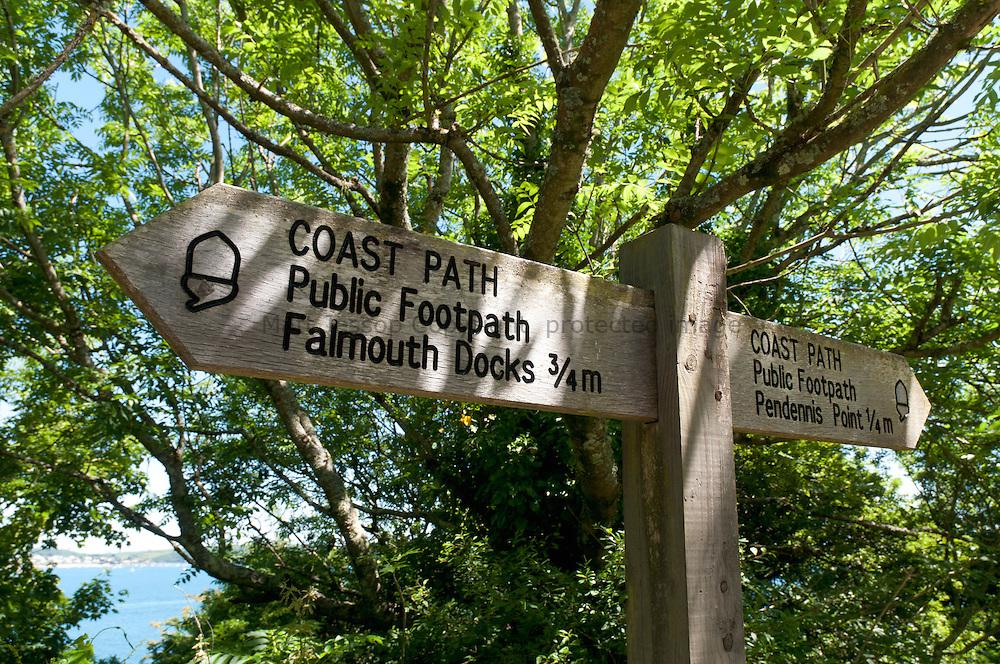 Falmouth Docks sign
