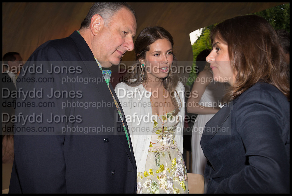 JOHNNY PIGOZZI; DASHA ZHUKOVA; TRACEY EMIN, 2014 Serpentine's summer party sponsored by Brioni.with a pavilion designed this year by Chilean architect Smiljan Radic  Kensington Gdns. London. 1July 2014