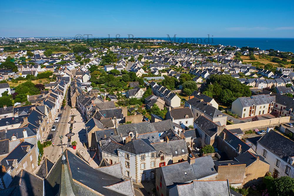 France, Loire-Atlantique (44), Batz-sur-Mer // France, Loire-Atlantique, Batz-sur-Mer
