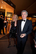 AVERY AGNELLI; JOHN FRIEDA, Bada Antiques Fine art Fair charity Gala. In aid of Leukaemia and Lymphoma Research. 18 March 2010.