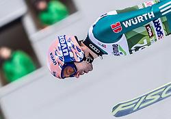 03.01.2014, Bergisel Schanze, Innsbruck, AUT, FIS Ski Sprung Weltcup, 62. Vierschanzentournee, Qualifikation, im Bild Michael Neumayer (GER) // Michael Neumayer (GER) during qualification Jump of 62nd Four Hills Tournament of FIS Ski Jumping World Cup at the Bergisel Schanze, <br /> Innsbruck, Austria on 2014/01/03. EXPA Pictures © 2014, PhotoCredit: EXPA/ JFK