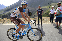 Ben Gastauer (LUX) AG2R La Mondiale Col d'Izoard during Stage 18 of the 104th edition of the Tour de France 2017, running 179.5km from Briancon to the summit of Col d'Izoard, France. 20th July 2017.<br /> Picture: Eoin Clarke | Cyclefile<br /> <br /> All photos usage must carry mandatory copyright credit (© Cyclefile | Eoin Clarke)