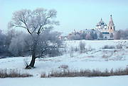The Kremlin and Cathedral of the Nativity of the Mother of God in Suzdal, Russia