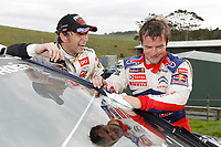 MOTORSPORT - WORLD RALLY CHAMPIONSHIP 2010 - RALLY NEW ZEALAND - AUCKLAND (NZE) - 06 TO 09/05/2010 - PHOTO : FRANCOIS BAUDIN / DPPI - <br /> SEBASTIEN LOEB (FRA) - CITROEN TOTAL RALLY TEAM - CITROEN C4 WRC - AMBIANCE PORTRAIT PETTER SOLBERG (NOR) - PETTER SOLBERG WRT - CITROEN C4 WRC - AMBIANCE PORTRAIT