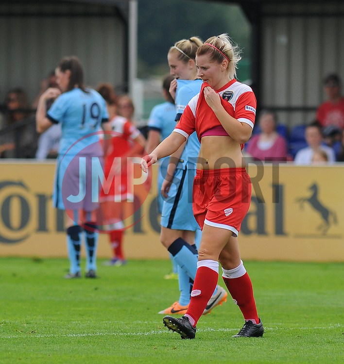 Bristol Academy Womens' Nicola Watts. - Photo mandatory by-line: Nizaam Jones- Mobile: 07583 387221 - 28/09/2014 - SPORT - Women's Football - Bristol - SGS Wise Campus - BAWFC v Man City Ladies - sport