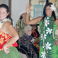 AssistaLife perform a Tahitian dance during Senior & Family Intergenerational Arts Festival: Celebration of Life on Saturday, October 9, 2010.