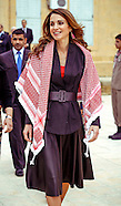 Queen Rania Visits Al Salt Boys School