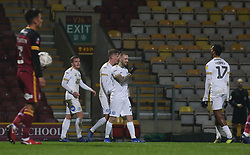 Marcus Maddison of Peterborough United celebrates his goal with team-mates - Mandatory by-line: Joe Dent/JMP - 11/12/2018 - FOOTBALL - Northern Commercials Stadium - Bradford, England - Bradford City v Peterborough United - Emirates FA Cup second round proper