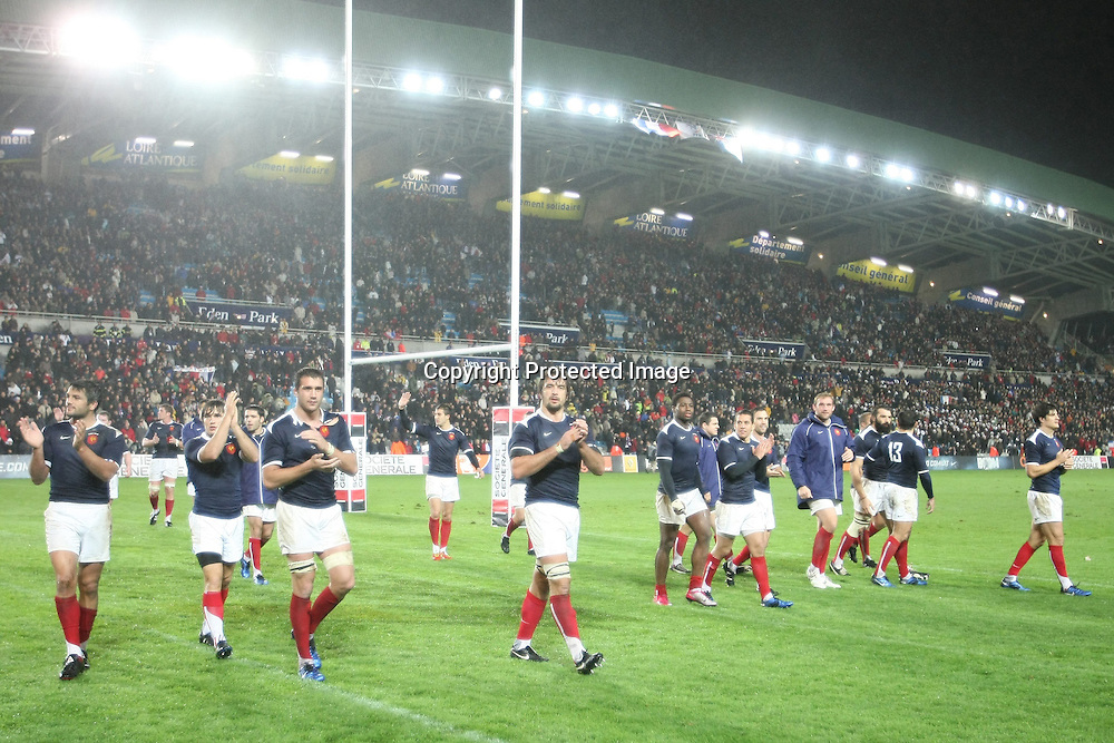 Rugby : France / Fidji - Test Match Tournee d Automne - 13.11.2010 - Equipe (France) *** Local Caption *** 00042416