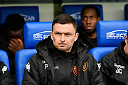 Leeds United manager Paul Heckingbottom before the EFL Sky Bet Championship match between Reading and Leeds United at the Madejski Stadium, Reading, England on 10 March 2018. Picture by Graham Hunt.