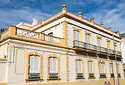Historic building in city centre of Cueta, Spanish territory in north Africa, Spain