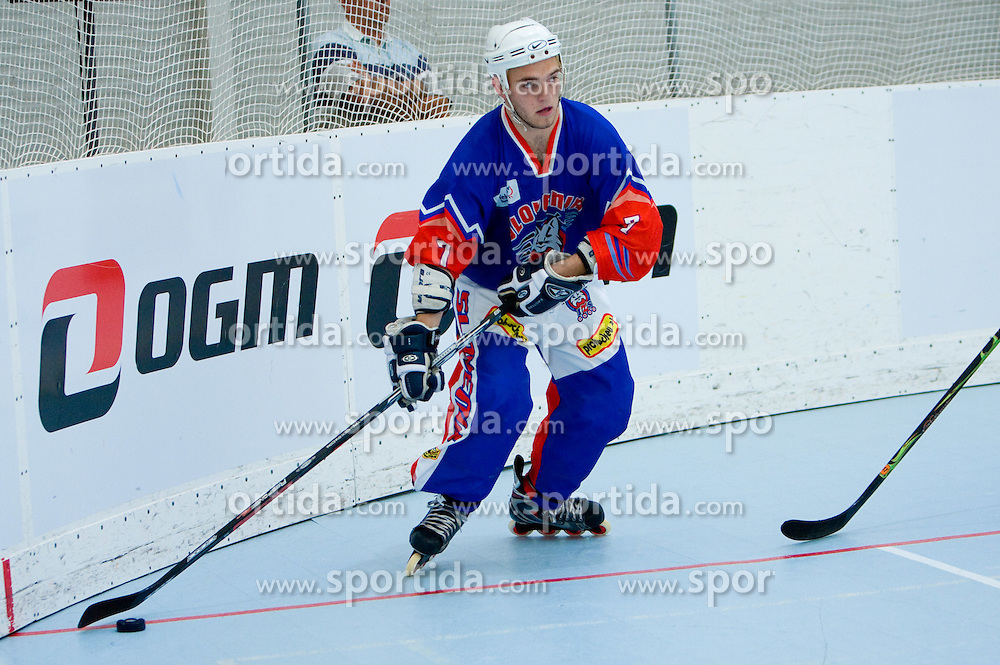 Domen Vedlin of Slovenia at in-line tournament Horjul Hockey Cup 2009 between National teams of Slovenia and Austria, on May 31, 2009, in Sportni park Horjul, Slovenia. (Photo by Vid Ponikvar / Sportida)