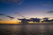 Dawn over ocean, Hawaii