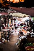 Central market in Kampot