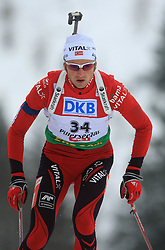 Alexander Os (NOR) at Men 20 km Individual at E.ON Ruhrgas IBU World Cup Biathlon in Hochfilzen (replacement Pokljuka), on December 18, 2008, in Hochfilzen, Austria. (Photo by Vid Ponikvar / Sportida)