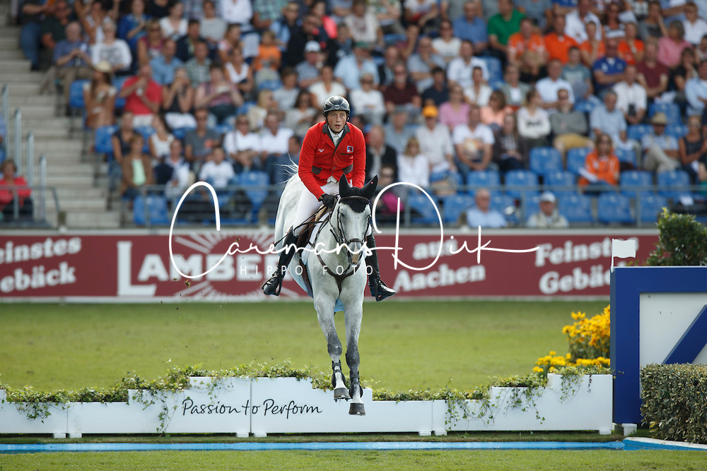Fuchs Martin, (SUI), Clooney<br /> Team completion and 2nd individual qualifier<br /> FEI European Championships - Aachen 2015<br /> © Hippo Foto - Dirk Caremans<br /> 20/08/15