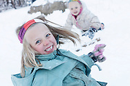 Photo by Barton Glasser.Children play in the snow at the Bear Creek trailhead in Telluride, Colo., Wednesday, Nov. 2, 2011.