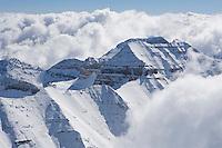 Mt. Timpanogos after a fall snow storm