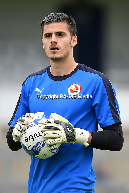 Jonathan Bond, Reading goalkeeper