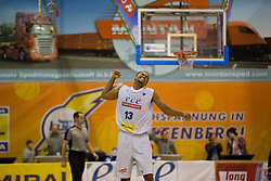 18.11.2015, Walfersamhalle, Kapfenberg, AUT, FIBA Europe Cup, ece Bulls Kapfenberg vs Le Havre, im Bild Joey Shaw (Bulls Kapfenberg) // during the FIBA Europe Cup, between ece Bulls Kapfenberg and Le Havre at the Sportscenter Walfersam, Kapfenberg, Austria on 2015/11/18, EXPA Pictures © 2015, PhotoCredit: EXPA/ Dominik Angerer