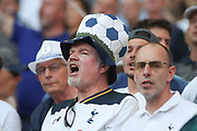 Tottenham fans during the Champions League Final match between Tottenham Hotspur and Liverpool at Tottenham Hotspur Stadium, London, United Kingdom on 1 June 2019.