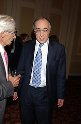 MICHAEL HOWARD at a party to celebrate the publication o'Seventy Two Virgins' by Boris Johnson held at The Travellers Club, 106 Pall Mall, London on 14th September 2004.<br />