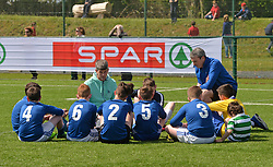 The SPAR FAI Primary Schools 5's Connacht finals, took place at Solar Park Mayo, Provincial winners  will progress to the SPAR FAI Primary School 5's National Finals in the Aviva Stadium on May 31st.<br /> Pic Conor McKeown
